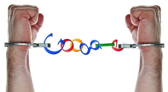 Googles svarta lista