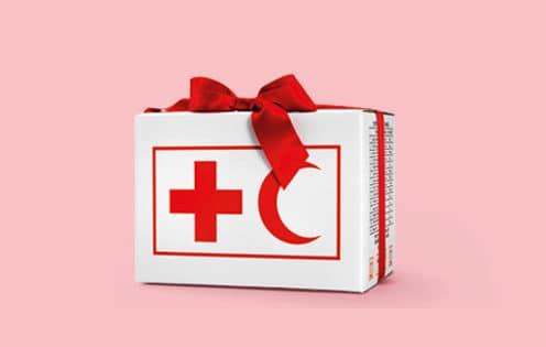 Årets julklapp från Röda korset