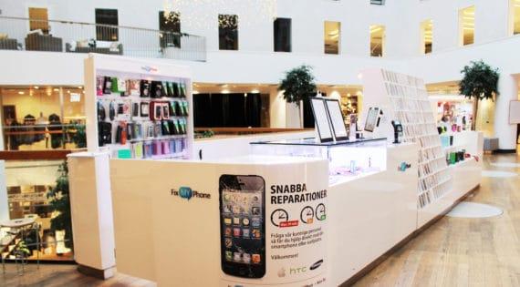 Fix My Phone öppnar 10 maj den sjätte butiken i Stockholmsområdet och elfte i landet, den här gången i Mörby Centrum i Danderyd.