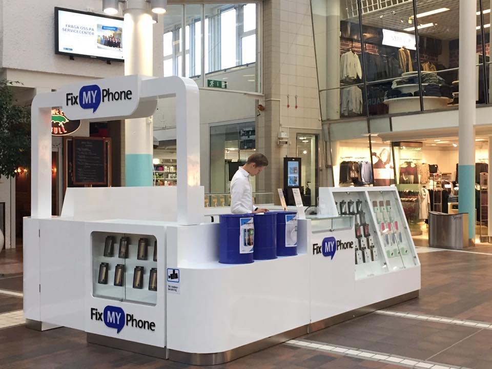 Fix My Phone öppnar nya servicebutiker runt Stockholmsregionen och i oktober ser den åttonde butiken dagens ljus, denna gång i Tyresö Centrum.