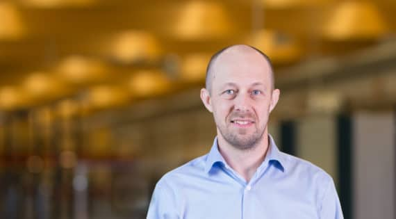 David Larsson, marknadschef Nimo