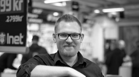 Johan Wahlberg, marknads- och försäljningschef på Inet