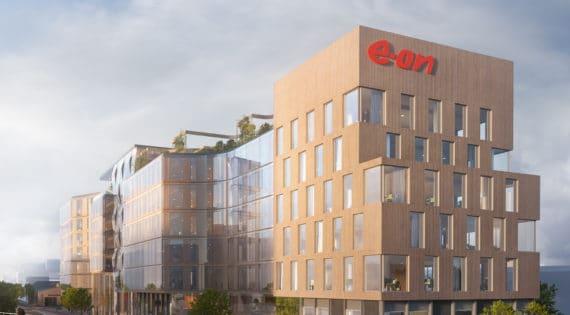 Kanozi ritar E.ONs nya framtidskontor i Malmö