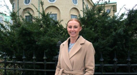 Praktikant Sofie Paulsson