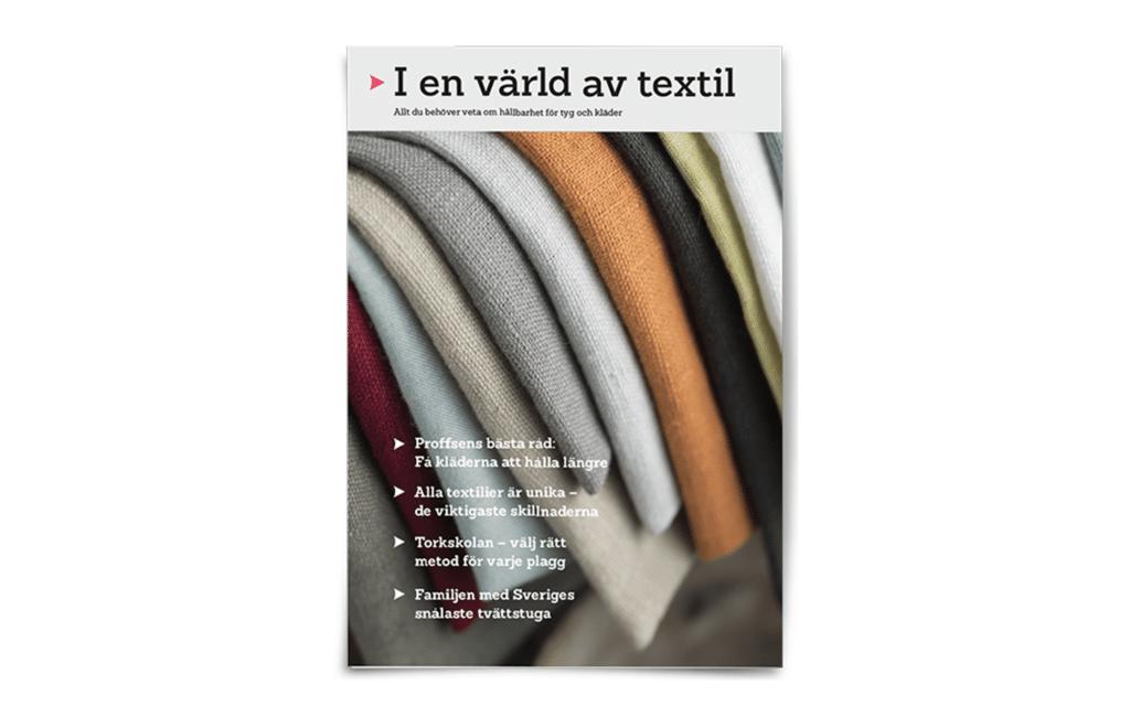 I en värld av textil