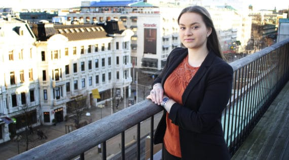 Miranda Duzmann, ny praktikant på Greatness PR