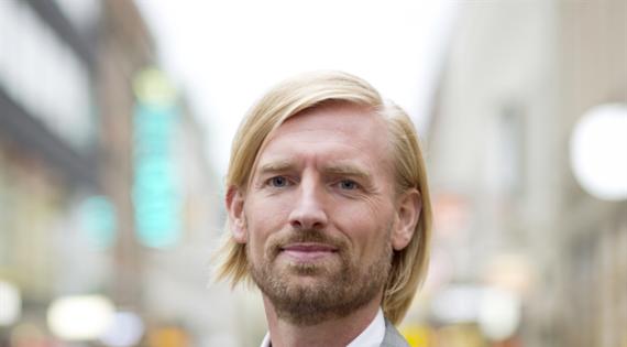 Niklas Halldén, styrelseordförande och grundare Svenska Alarm.