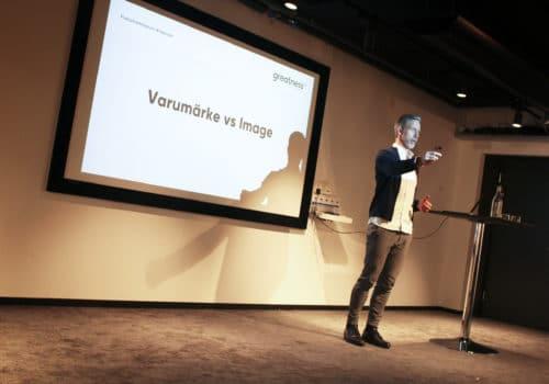 Greatness vd Magnus Sjöbäck talar om att bygga varumärke