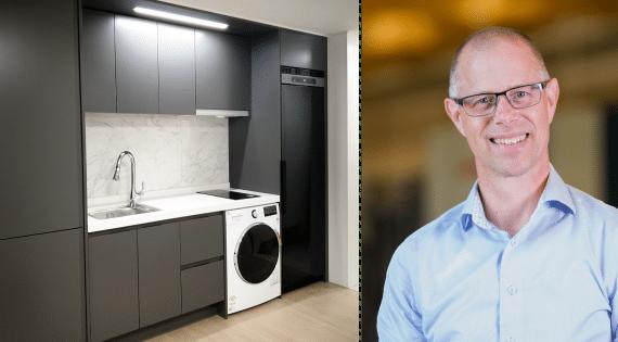 Den svenska torkskåpstillverkaren Nimo fortsätter sin globala tillväxt. Nu har företaget levererat ytterligare en stororder på 200 specialtillverkade Sensor Dryer-torkskåp till framtida bostadskomplex i Daegu City, Sydkorea.